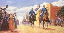 Road to Glory by Mort Kunstler Civil War Print Military Signed Limited Ed.