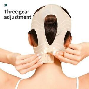 Women Thin Face Slimming Bandage Belt V Shape Lift Remove Double Chin HOT