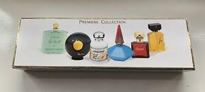 Vintage Set Of 6 Miniature Perfume Bottles