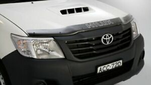 Genuine Toyota Hilux Bonnet Protector Tinted Sep 2011 - Jul 2015 PZQ15-89110
