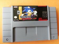 Sonic the Hedgehog snes game english