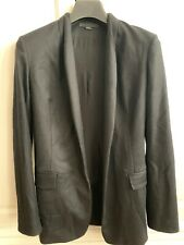 ALEXANDER WANG Wool Jacket Size 4 / S Black