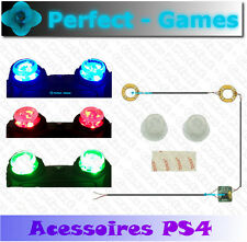 Playstation PS4 controller V1 manette dualshock LED thumb sticks light up caps
