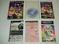 F-Zero GX with License Card Complete Nintendo Gamecube GC NTSC-J Japan import