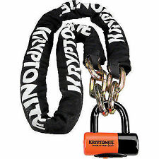 Kryptonite Motorcycle Chains, Cables & U-Locks