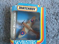 Matchbox skybusters sb 8 spitfire boxed