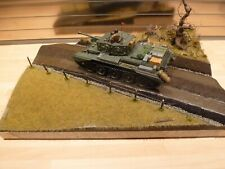1/35 ww11 Diorama, British Cromwell tank, excellent build standard.