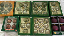 8 Boxes Of Christmas Ornaments - New