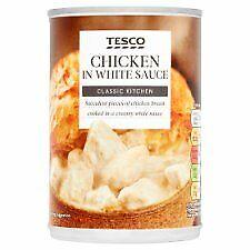 Tesco Chicken In White Sauce 400G