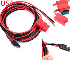 POWER CABLE FOR MOTOROLA MOBILE RADIO GM300 GTX M1225 GM338 HKN4137 HKN9402