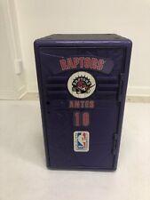 Vintage Toronto Raptors Storage Locker 90s nba basketball Suncast mini plastic