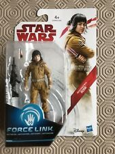 "Star Wars The Last Jedi Force Link Resistance Tech Rose 3.75"" Action Figure New"
