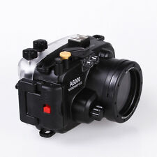 Meikon 40M Waterproof Housing Gehäuse Case für Sony A6000 16-50mm Kamera Lens
