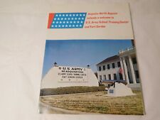 Fort Gordon Us Army School Training Welcome Guide 52 pp. Ca. 1968 Augusta Ga