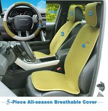 Summer Universal Car Seat Cover (2 seats, 5 pc. kit) (Green) - SoJoy