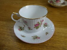 Royal Heritage Cup and Saucer duo Bone China flora buds