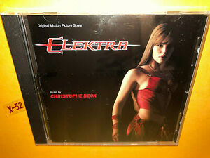 ELEKTRA soundtrack CD score CHRISTOPHE BECK jennifer garner MARVEL daredevil uni