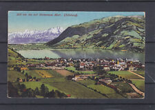 Zell am See mit Seinernem Meer Panoramakarte