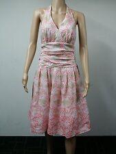 NEW - S.L. Fashions - Size 8 - Cora Cotton Foil Dress - Printed Multicolour $89