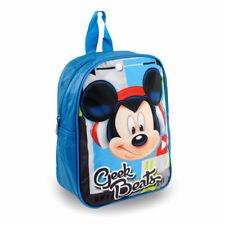 Zaino per Asilo Bimbi TOPOLINO zainetto Mickey Mouse bambini scuola materna 27cm