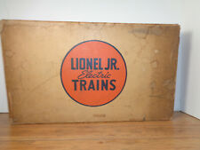 LIONEL JR. # 1054 FREIGHT TRAIN, BOX, INSERT AND TRANSFORMER