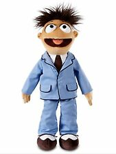Disney Store Authentic Muppets Most Wanted Plush Walter In Blue Suit 18""