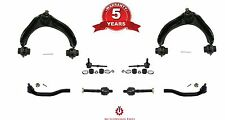 97-01 Prelude Upper Control Arm W Ball Joint Tie Rods Sway Bar Links Kit 8PC