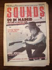 SOUNDS 1987 AUG 1 U2 BONO CRAZYHEAD  DEF JAM BMF D'ARBY