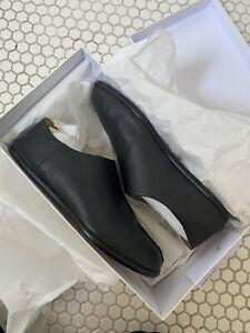 tabi shoes margiela slip on 45 US 12 black leather mens