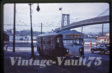 Duplicate Slide Bus D1215 New York City Transit Nycta Nycts 1950'S Brooklyn