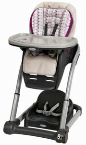 Graco Blossom 6-in-1 Convertible Kids Highchair Nyssa NEW