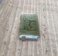 Call of Cthulhu enamel pin badge, Lovecraft