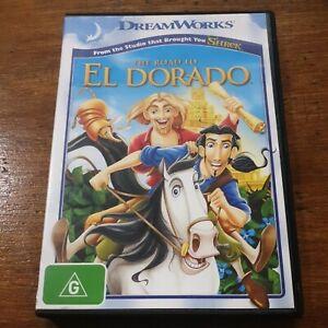 The Road to El Dorado DVD R4 Like New! FREE POST
