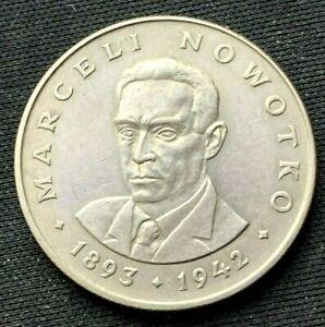 1976 Poland 20 Zlotych Coin AU    Copper Nickel World Coin     #K1407
