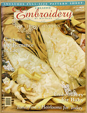 Creative Embroidery by Machine: Jenny Haskins V 1 No 2 w PATTERNS VG Qld Qikpost