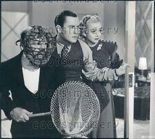 1946 Actors Donald Meek John Hubbard Carole Landis in Turnabout Press Photo