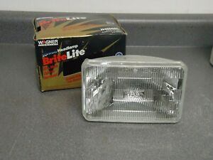 New Wagner Xenon Britelite Low Beam Headlight Headlamp H4656BL