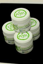 New Lot of 4 Matcha Ceremonial Grade Japanese Green Tea by Aiya
