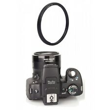 Ring Adapter Mount for Canon Powershot SX30 SX40 SX50 SX60 SX520 HS (58mm Size)