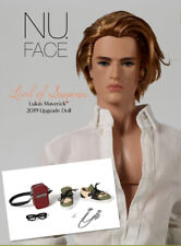 Lukas Maveric Level of suspense  Fashion Royalty Integrity toy Wclub doll NUFACE