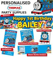 Personalised Thomas the Tank Engine Birthday Party Banner Decorations