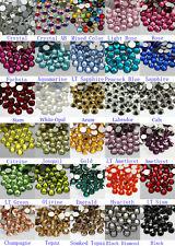 1440pcs Gava Flatback Rhinestones SS16~SS20 Multiple Colors Nail Art Crystal