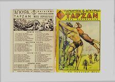 TARZAN #31 GKAOYR TARZAN Greek comic by AGYRA 1950 RARE