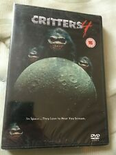 Critters 4: Critters In Space- 1991 Angela Bassett (New/sealed region 2 PAL DVD)