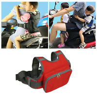 Children/'s Safety Belt One-piece Bike Protective Seat Strap Harness Black