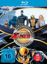 4 Marvel BLU-RAY Filme Astonishing X-Men - Gifted & Dangerous & Unstoppable NEU