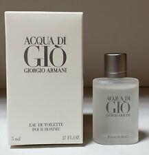 ACQUA DI GIO (5ML) EDT SPLASH MINI FOR MEN TRAVEL SIZE NEW IN BOX