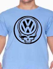 volkswagon skull vw custom t-shirt graphic tee Golf, Bug, Jetta, Passat, Tuguan