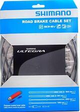 Shimano Ultegra R680 BC-R680 Road Brake Cable Set, Polymer coated, Gray