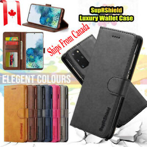 For Samsung Galaxy S20 FE S20 Ultra S20+ Plus Wallet Case Leather Magnetic Cover